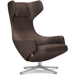 Grand Repos Lounge Chair lounge chair Vitra Polished 16.1-Inch Cosy Contrast - Nutmeg - 03