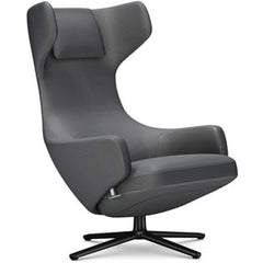 Grand Repos Lounge Chair lounge chair Vitra Basic Dark 16.1-Inch Cosy Contrast - Classic Grey - 10