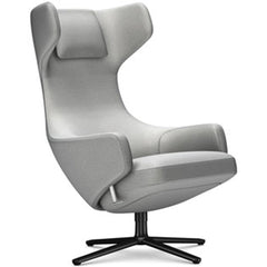 Grand Repos Lounge Chair lounge chair Vitra Basic Dark 18.1-Inch Cosy Contrast - Pebble Grey - 01