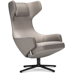 Grand Repos Lounge Chair lounge chair Vitra Basic Dark 18.1-Inch Cosy Contrast - Fossil - 02