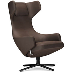 Grand Repos Lounge Chair lounge chair Vitra Basic Dark 18.1-Inch Cosy Contrast - Nutmeg - 03