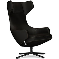 Grand Repos Lounge Chair lounge chair Vitra Basic Dark 18.1-Inch Cosy Contrast - Velvet Brown - 04