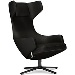 Grand Repos Lounge Chair lounge chair Vitra Basic Dark 18.1-Inch Cosy Contrast - Black Forest - 08