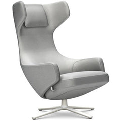 Grand Repos Lounge Chair lounge chair Vitra Soft Light 16.1-Inch Cosy Contrast - Pebble Grey - 01
