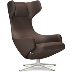 Grand Repos Lounge Chair lounge chair Vitra Soft Light 16.1-Inch Cosy Contrast - Nutmeg - 03
