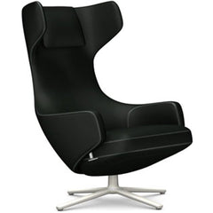 Grand Repos Lounge Chair lounge chair Vitra Soft Light 16.1-Inch Cosy Contrast - Merino Black - 11