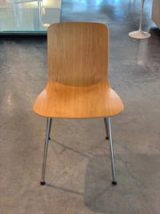 HAL Ply Wood Chair with Metal Legs ***Floor Sample ****