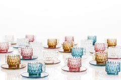 Jellies Espresso Cup & Saucer Set of 4 Coffee Kartell