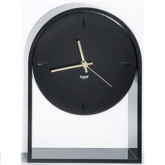 Air Du Temps Clock Clocks Kartell Black