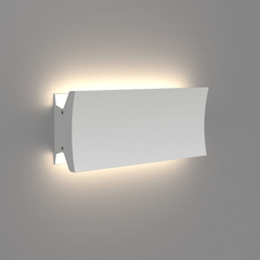 "Lineacurve LED Wall/Ceiling Light wall / ceiling lamps Artemide 12"" Dual Anthracite Grey 3000K-80 CRI"