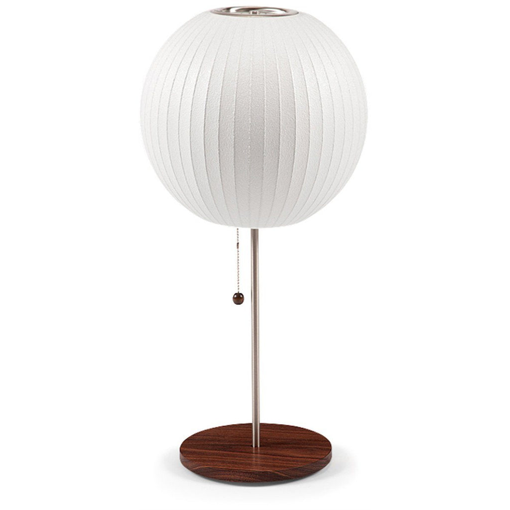 Ball lotus table lamp nelson ball lotus table lamp geotapseo Choice Image