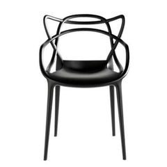 Masters Chair gold Side/Dining Kartell Black