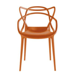 Masters Chair gold Side/Dining Kartell Rusty Orange