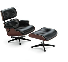 Miniature Eames Lounge Chair and Ottoman by Vitra