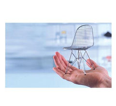 Miniature Eames DKR Wire Chair by Vitra Art Vitra