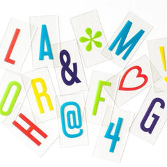 Vibrant Letter Pack lamps amped