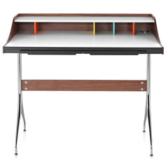 Nelson Swag Leg Desk by herman miller / nelson swag desk