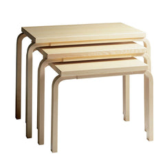 Nesting Tables 88 side/end table Artek Birch veneer