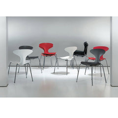 Orbit Plastic Stacking Chair Side/Dining Bernhardt Design