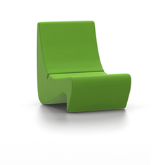 Panton Amoebe Chair lounge chair Vitra Tonus - Grass Green