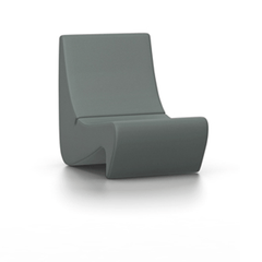 Panton Amoebe Chair lounge chair Vitra Volo - Mid-grey