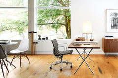 Nelson X-Leg Table with Laminate Top Dining Tables herman miller