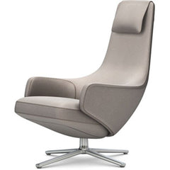 Repos Lounge Chair lounge chair Vitra Polished 16.1-Inch Cosy Contrast - Fossil - 02