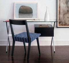 Risom Side Chair with wood back