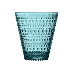 Kastehelmi Tumbler 10OZ Tumbler Glass iittala Sea Blue