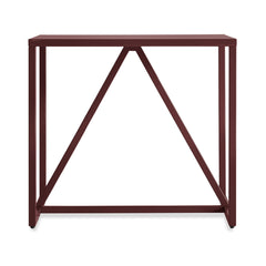 Strut Side Table side/end table BluDot Oxblood