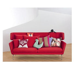 Suita Three-Seater Sofa w/ Head Section Sofa Vitra