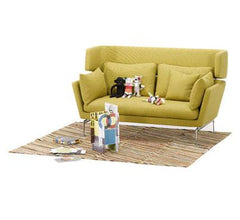 Suita Two-Seater Sofa w/ Head Section Sofa Vitra