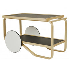 Tea Trolley 901 Carts / Trolleys Artek Black Linoleum
