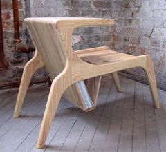 Tele Side Table by Ali Sandifer side/end table Ali Sandifer