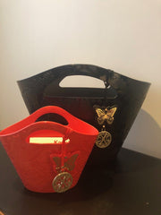 Le Paseo Large Black Bag ***Floor Sample*** Accessories Kartell