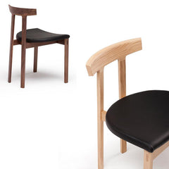Torii Chair With Upholstered Seat Side/Dining Bensen