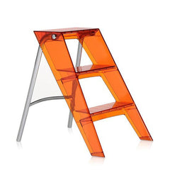 Upper Step Ladder Accessories Kartell Orange Red