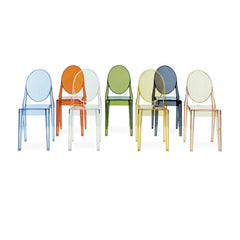 Victoria Ghost Chair 4-Pack Special Price Side/Dining Kartell