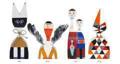 Wooden Dolls By Alexander Girard Art Vitra Doll # 9