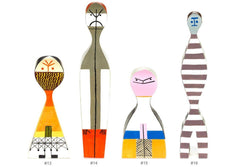 Wooden Dolls By Alexander Girard Art Vitra Doll # 14
