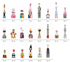Wooden Dolls By Alexander Girard Art Vitra