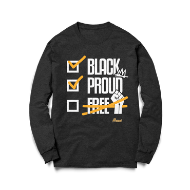 Black Proud ✊🏾 Sweatshirt - Arcani Coil Care