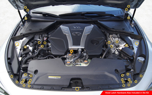Infiniti Q60 Engine Bay