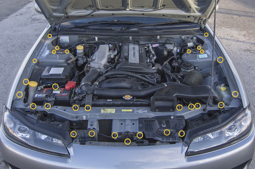 Nissan S15 Engine Bay