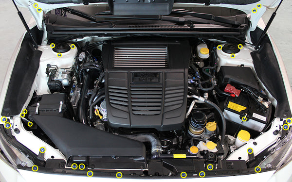 Subaru WRX Engine Bay