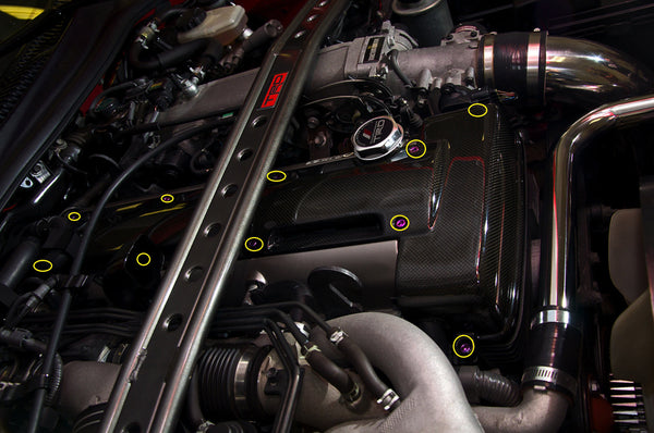 2JZ-GTE Coil Pack Cover