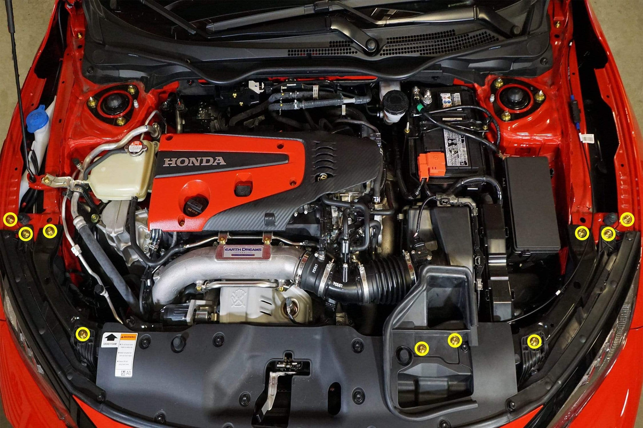 Honda Civic Type R Engine Bay