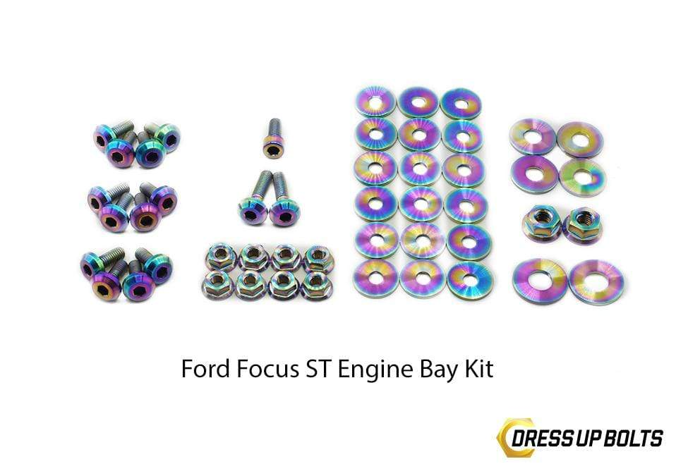 Ford Focus ST (2011-2014) Titanium Dress Up Bolt Engine Bay Kits