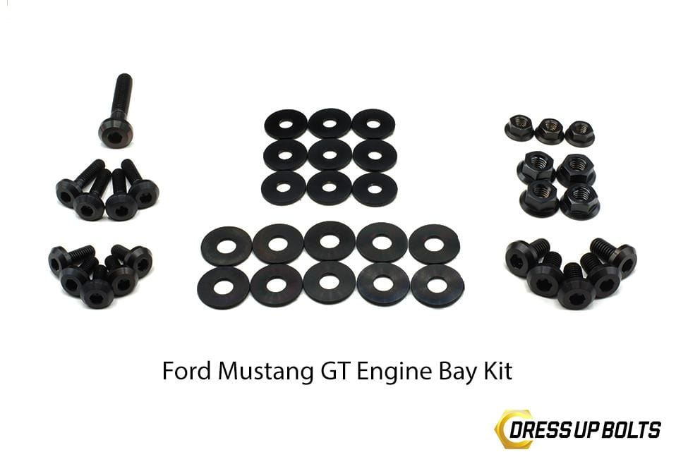 Ford Mustang Gt 2015 2017 Titanium Dress Up Bolts Engine