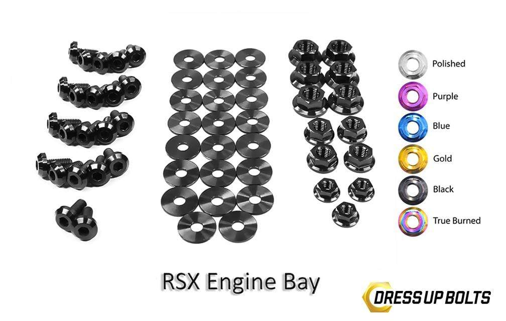 Acura RSX & RSX Type-S (2002-2006) Titanium Dress Up Bolts